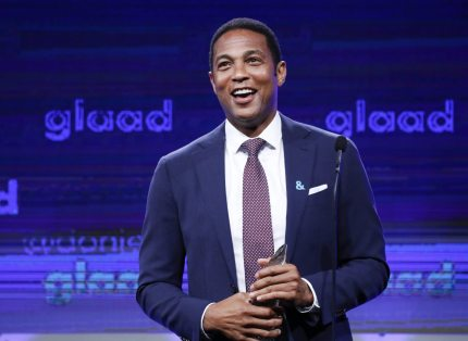 CNN anchor Don Lemon speaks at the 2017 GLAAD Gala at City View at Metreon on September 9, 2017