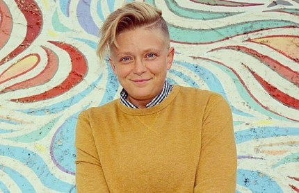 Michele Crider, a lesbian waitress in Indiana who was abused by a customer
