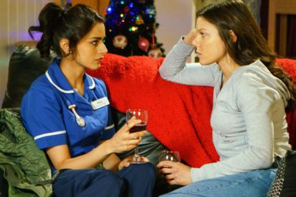 Coronation Street lesbian couple Kate and Rana