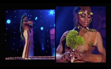 Drag Race queen Ra'Jah O'Hara faces elimination.