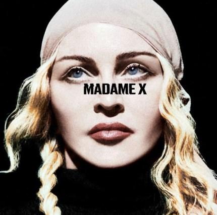Madonna's Madame X artwork.