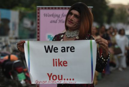 Police force welcomes transgender recruits in Pakistan province