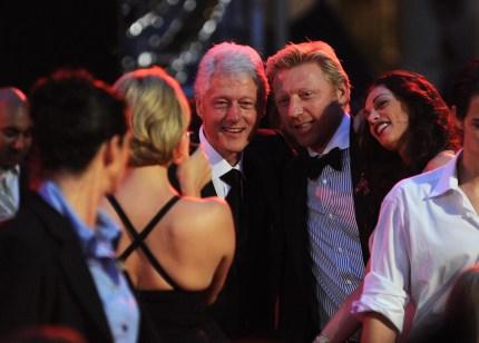 Former US President Bill Clinton at Life Ball Vienna 2010