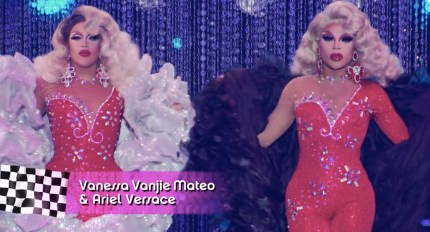 Drag Race queens Miss Vanjie and Ariel Versace are robbed.
