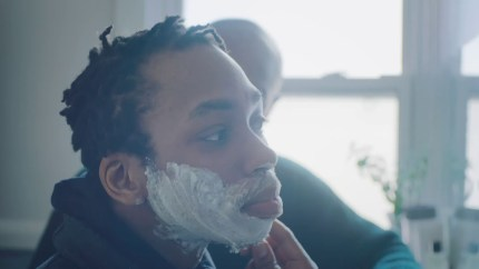 The Gillette advert features Samson Bonkeabantu Brown. (Gillette)