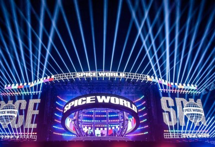 The Spice World 2019 stage