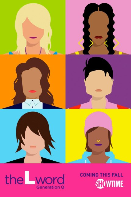 The first poster for The L Word: Generation Q.