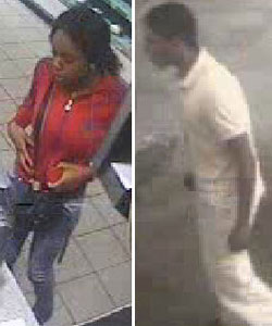 CCTV images of the two suspects