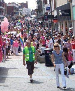 Three men were convicted of stirring up hatred before Derby Pride 2010
