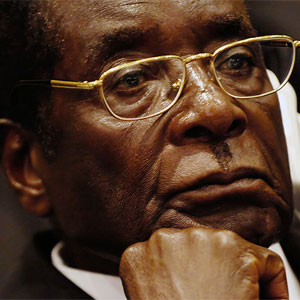 Mugabe has previously described Archbishop Tutu as 'evil'