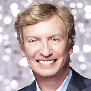 Nigel Lythgoe on the set of So You Think You Can Dance?