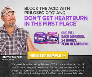 Grab your #FREE Sample of Prolosec OTC