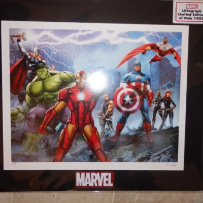Choice Collectibles MARVEL Fine Art Giveaway {US |Ends 03/19}