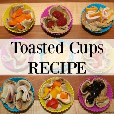 Toasted Cups RECIPE~ A Celebration of Creativity