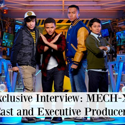 EXCLUSIVE Interview with Disney's MECH-X4 Cast and Executive Producers