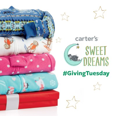 Carter's Sweet Dreams  #GivingTuesday