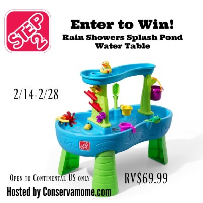 Step 2 Water Table Giveaway {US | Ends 02/28}