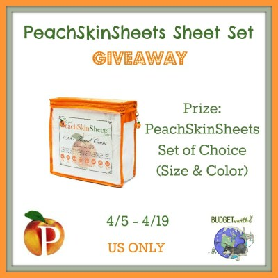 PeachSkinSheets Giveaway {US | Ends 04/19}