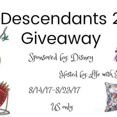 Descendants 2 Prize Pack Giveaway (arv $299) {US | Ends 08/23}