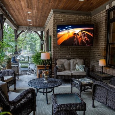 Outdoor Living Now Includes TV