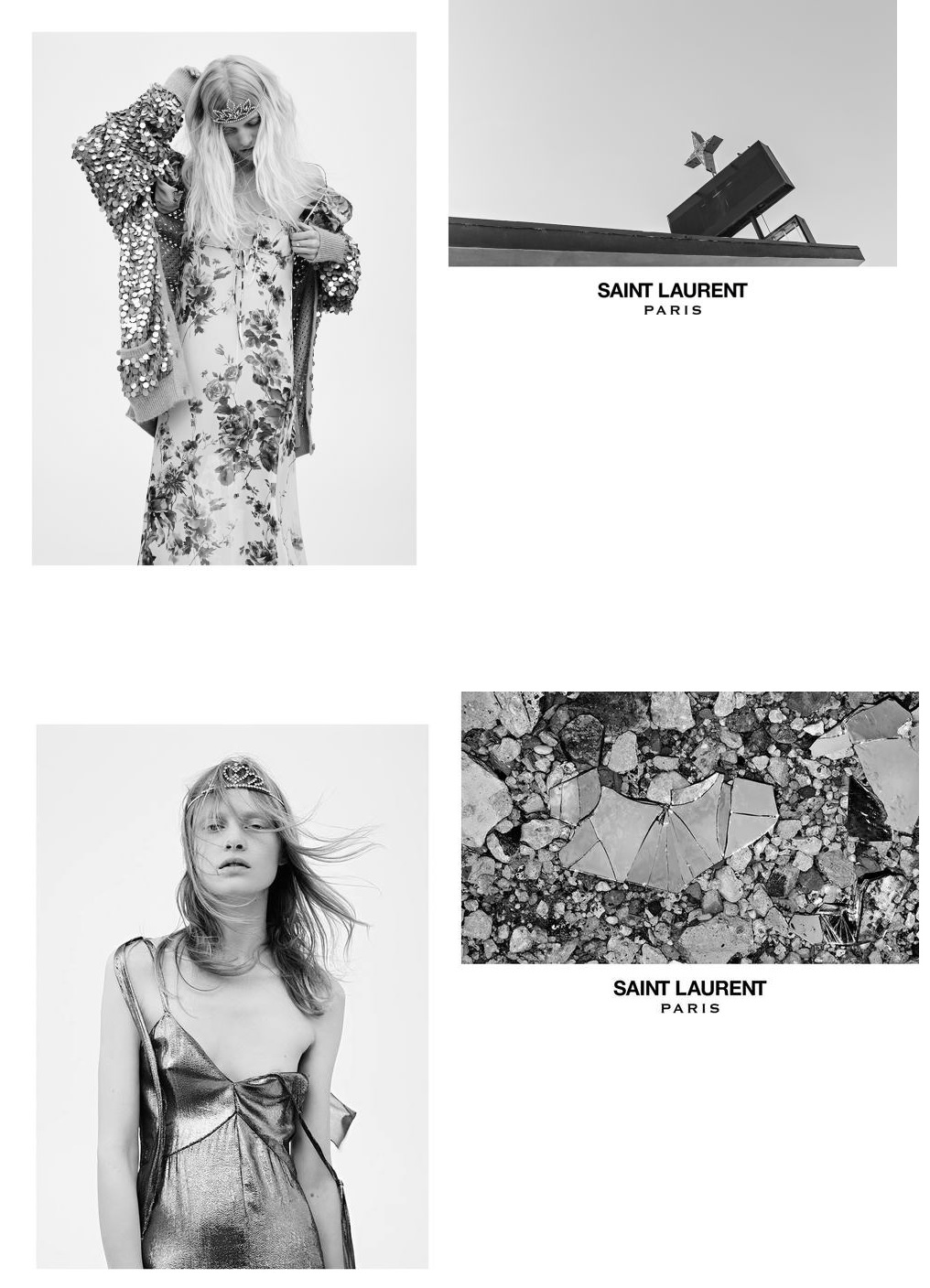 Saint-Laurent spring summer 2016 ad campaign