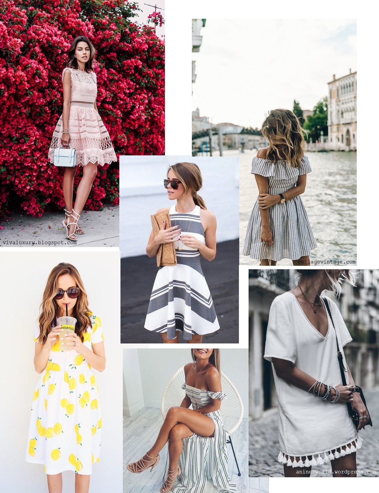 3. Summer vacation dresses 2016 trend c