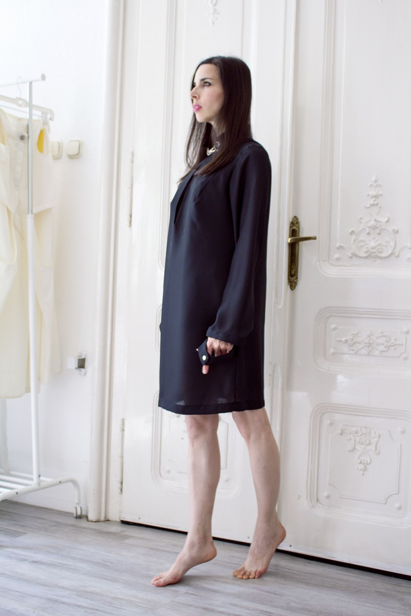 Between-black dress-hungarian designer