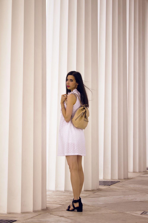 White-summer-dress