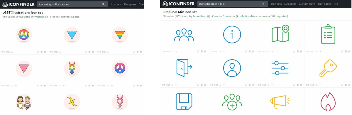 Iconfinder Icons