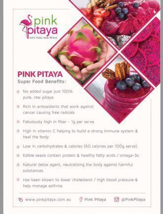 Organic Freeze Dried Pink Pitaya Powder