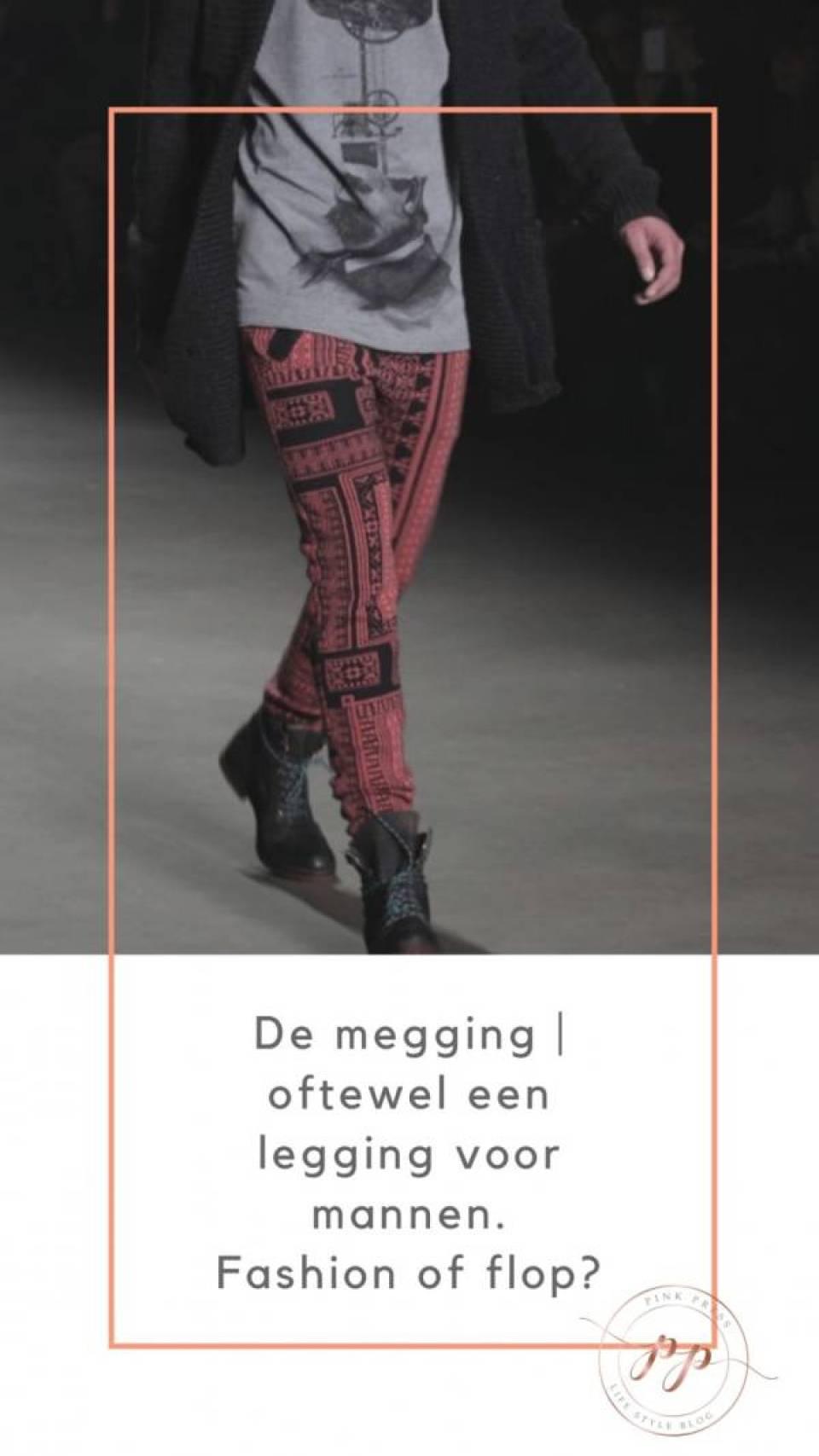 de megging legging voor mannen - De legging.. of Megging | een legging voor mannen