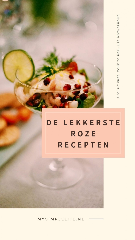 """de lekkerste roze recepten - Lekkere recepten voor een """"roze"""" diner"""