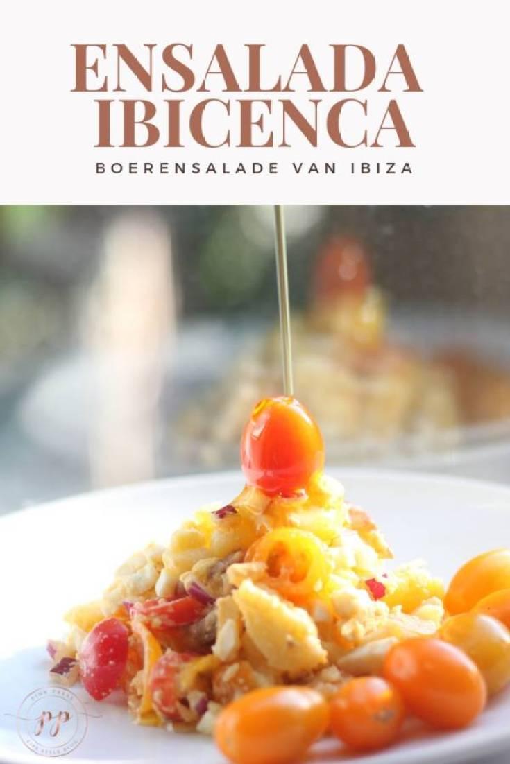 ensalada ibicenca een authentieke boeren aardappelsalade van Ibiza - Ensalada Ibicenca - Een lokaal recept uit Ibiza