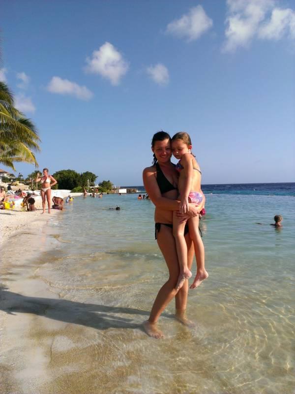 Een maand naar Curacao met mijn dochter