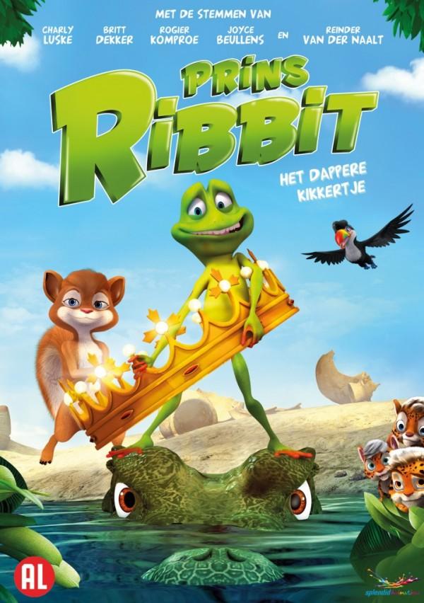 Ribbit Front DVD BNL 600x852 - De mega Prins Ribbit winactie en review