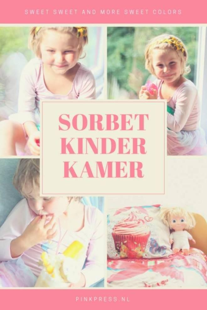 SORBETKINDERKAMER - Een mega zoete kinderkamer | Sorbet en donuts zijn favoriet!