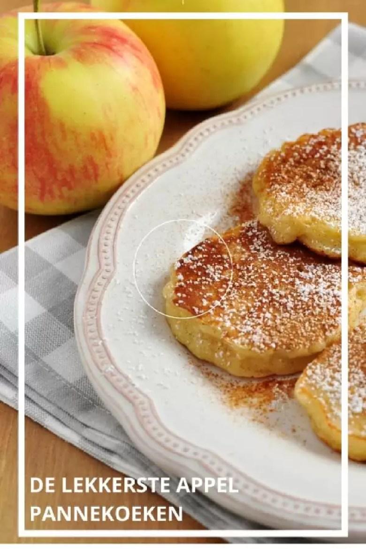 De allerlekkerste appel pannenkoeken