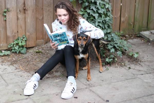IMG 8491 - Review & Interview over Stukjes Hemelblauw