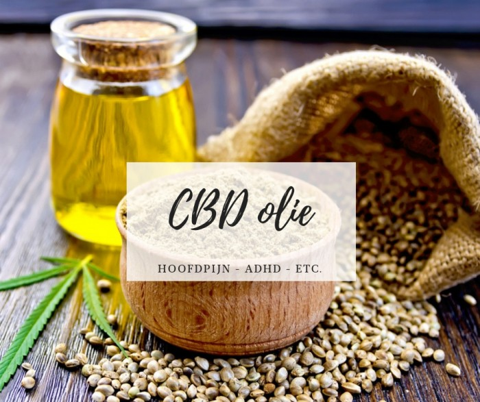 CBD OLIE - Review: CBD olie (cannabisolie)