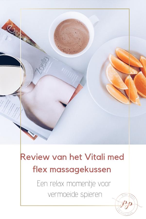 med flexi massage kussen voor vermoeide spieren - Het Vitali med flex massagekussen
