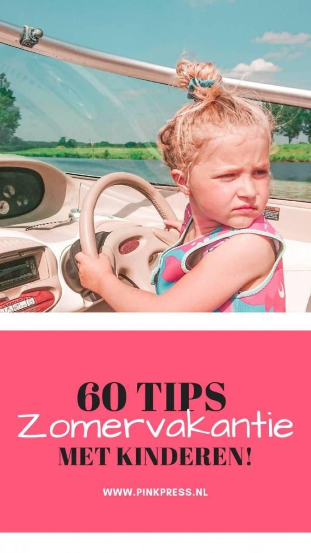 60 tips zomervakantie - 60 Tips om de zomervakantie door te komen