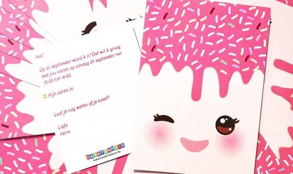 Voorbereidingen Voor De Verjaardag 11 Jaar Pink Press Life