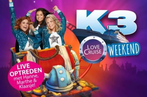 PIC K3LoveCruise Website 700x471 - K3 komt naar Plopsa Indoor Coevorden tijdens het 'K3 Love Cruise Weekend'! -Winactie!-