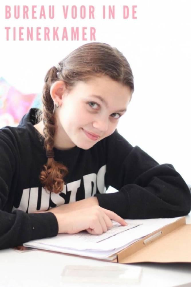 bureau - Een bureau op de tienerkamer is super handig!