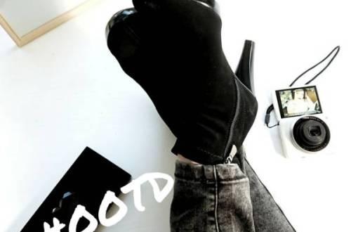 hogehakkenenskinnyjeans - New in! | Hoge hakken en skinny jeans | #OOTD