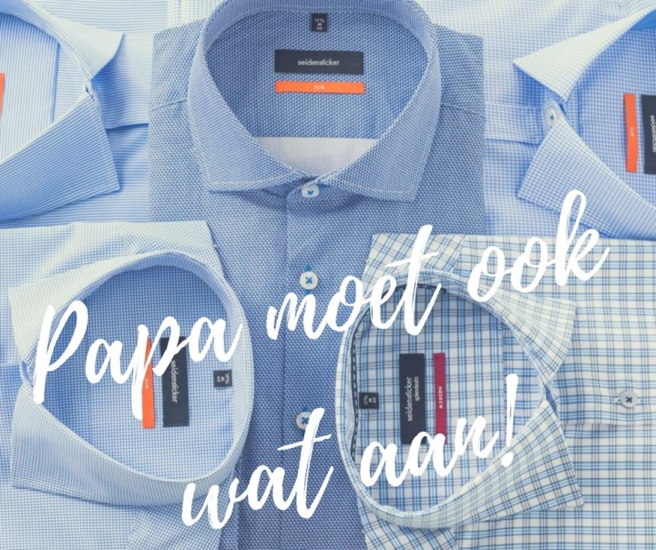 papamoetookwataan - Papa moet ook wat aan | Een overhemd of casual?
