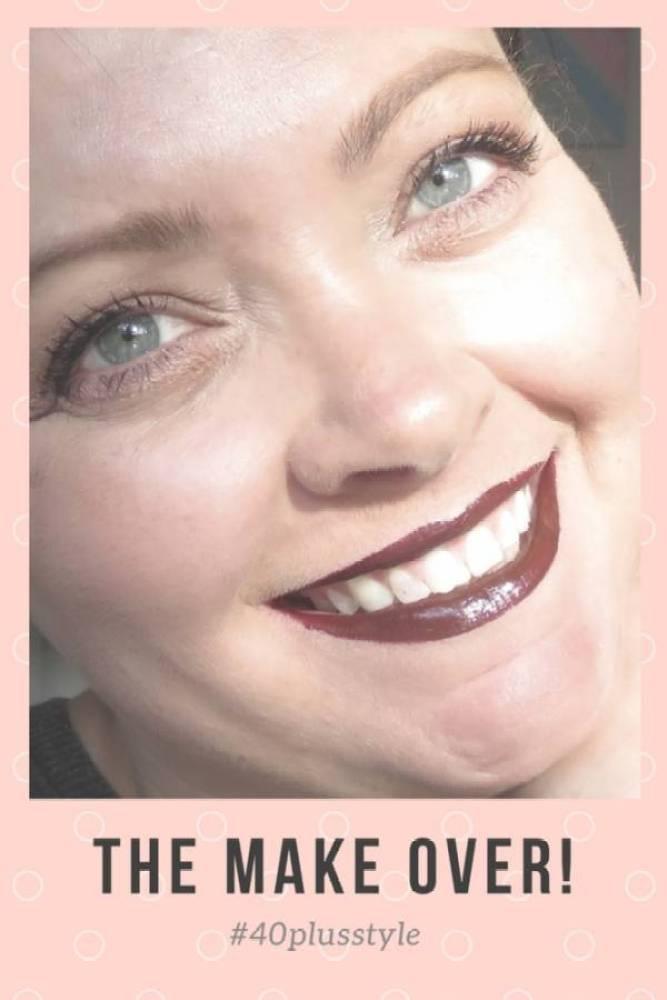 The make over 1 - Beauty   De blogger make over   Peach eyes en donkere lippen