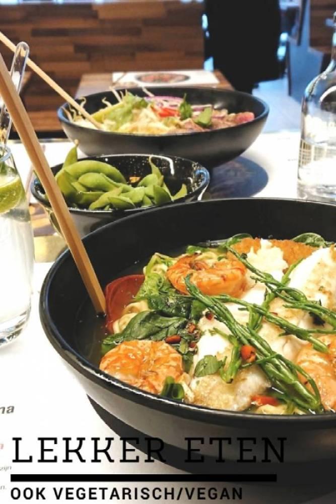 Lekker eten 1 - We LOOOOVE Wagamama en andere lekkere (vega) eettentjes