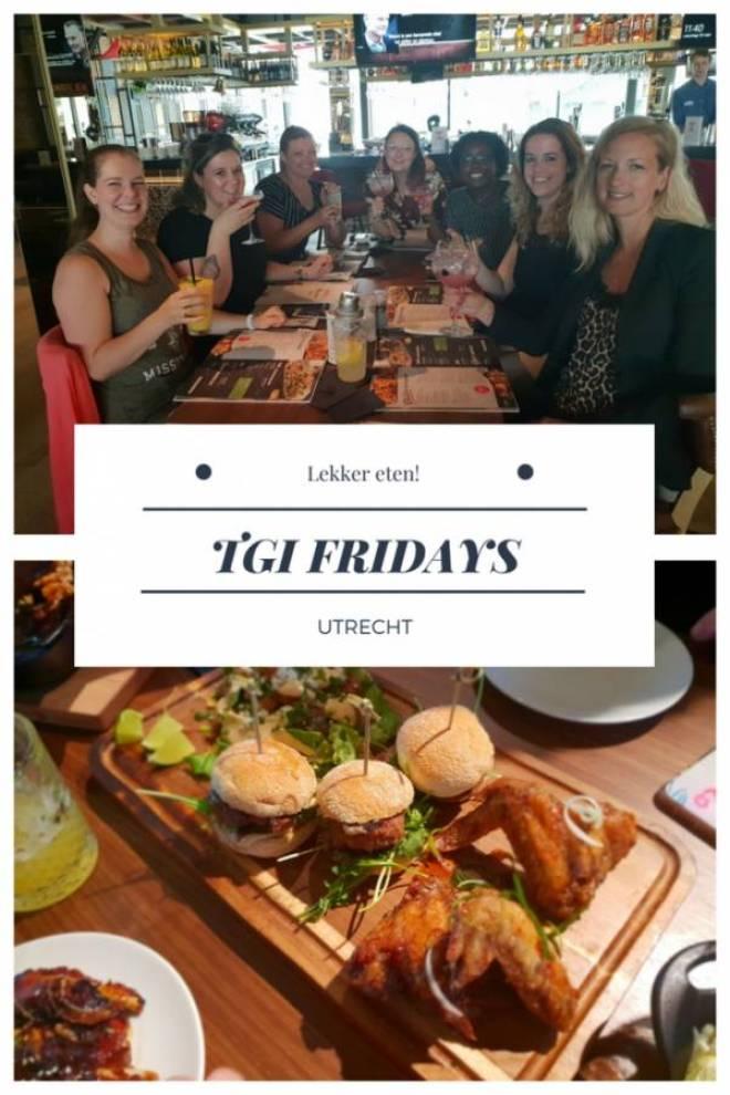 TGI Fridays - Lekker eten bij TGI Fridays en een blind date met 7 vrouwen!