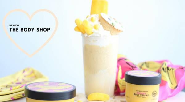 Let's go bananas met de Limited Edition Banana-lijn van The Body Shop